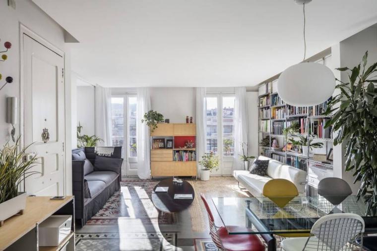 西班牙Eixample区的公寓_1