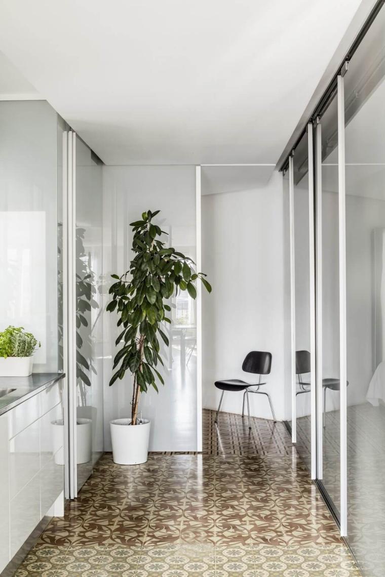 西班牙Eixample区的公寓_2