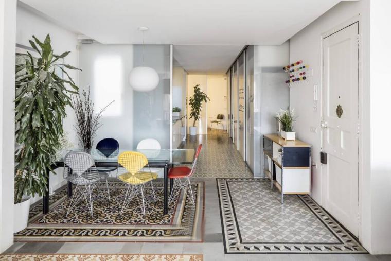 西班牙Eixample区的公寓_4