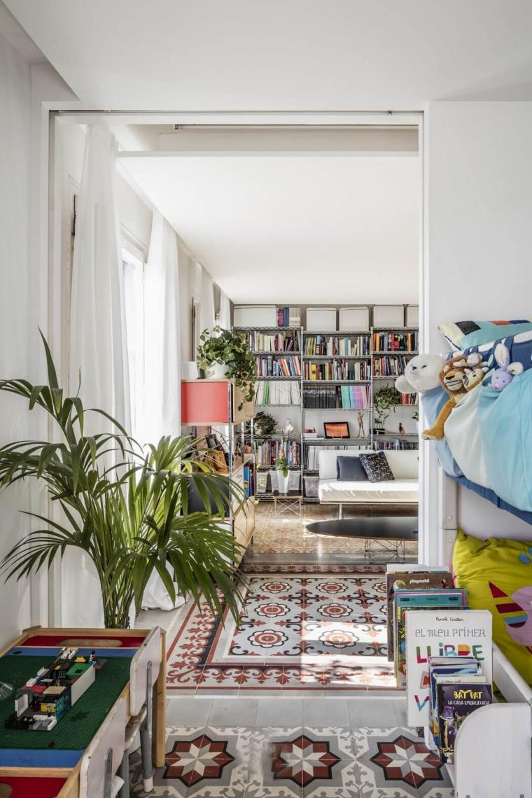西班牙Eixample区的公寓_5