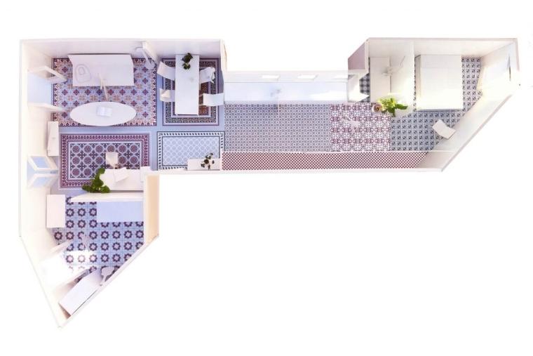 西班牙Eixample区的公寓_11