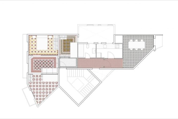 西班牙Eixample区的公寓_12