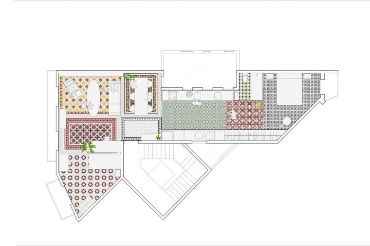 西班牙Eixample区的公寓_13