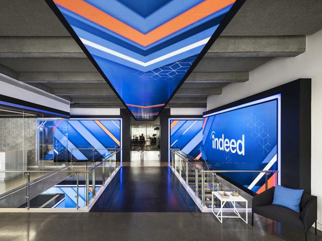 美国Indeed公司新总部办公室