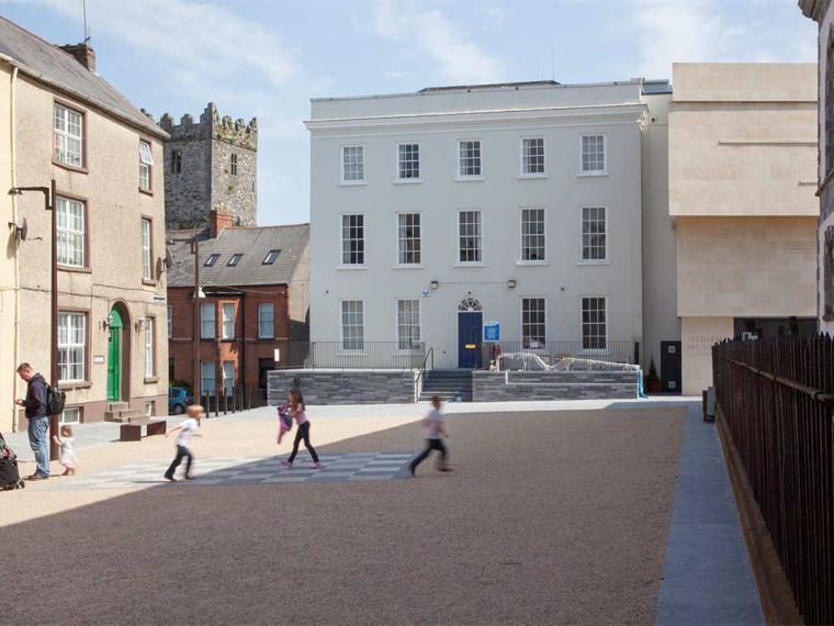 爱尔兰Waterford维京三角区空间改造