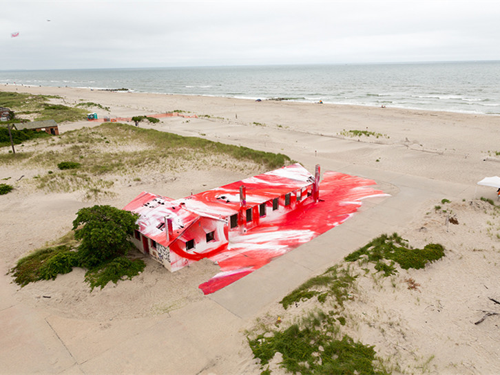 美国rockaway海滩房屋的改造