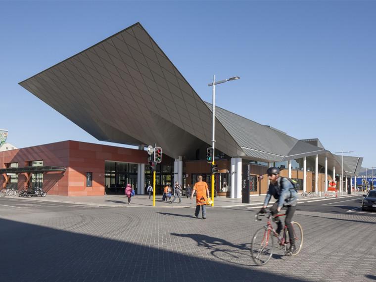 新西兰克赖斯特彻奇市公交换乘站
