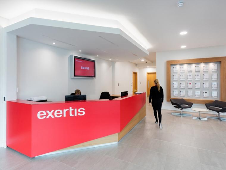 英国Exertis公司时尚办公室