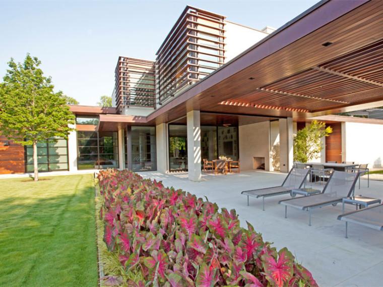 美国绿色树林住宅