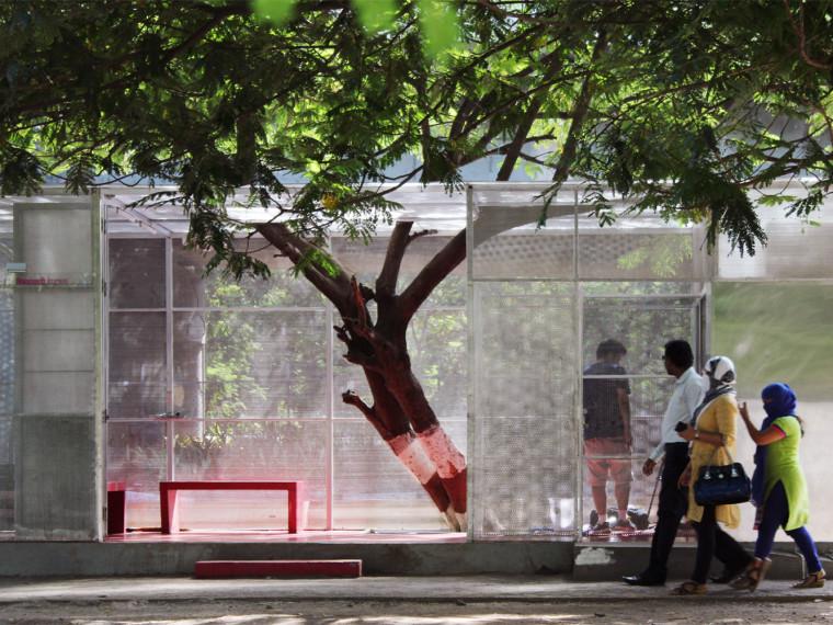 印度光线盒子公共卫生间