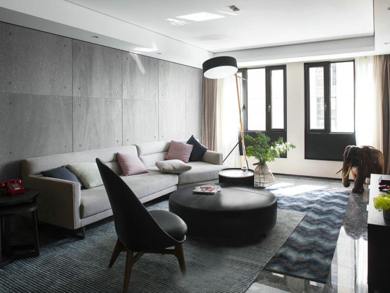 现代极简风格的住宅