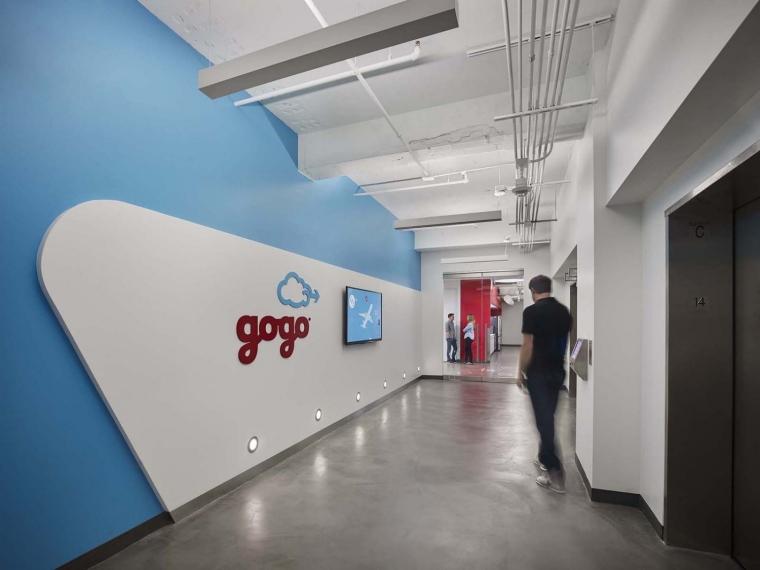美国Gogo公司办公室