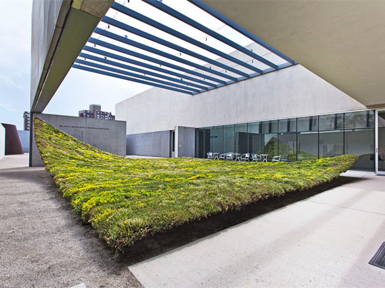 美国当代艺术博物馆空中花园