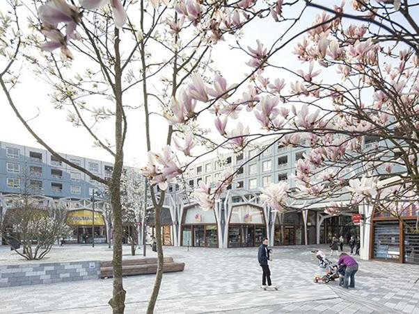 荷兰Nieuwegein市中心购物中心的改造