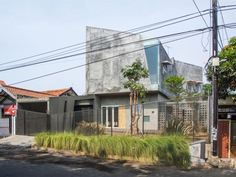 印尼倾斜住宅