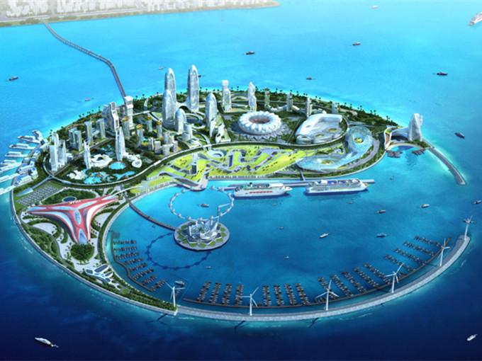 南海人工生态岛的改造