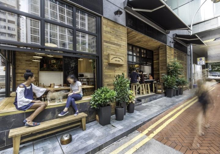香港Elephant Grounds咖啡店外部-香港Elephant Grounds咖啡店第18张图片