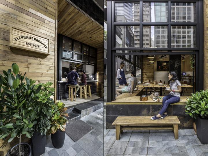 香港Elephant Grounds咖啡店外部-香港Elephant Grounds咖啡店第17张图片