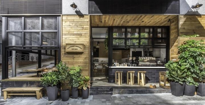 香港Elephant Grounds咖啡店外部-香港Elephant Grounds咖啡店第21张图片