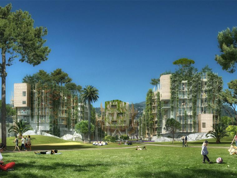 法国运动场到住宅公园的改造
