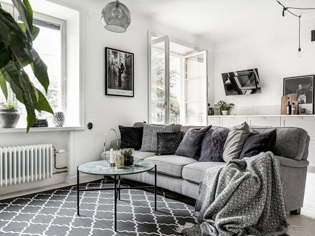 瑞典54平米公寓