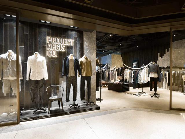 苏州Project Aegis服装店