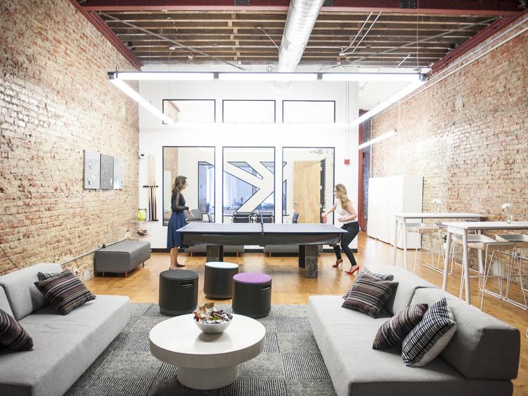 it公司办公室设计资料下载-美国旧金山MedHelp公司办公室
