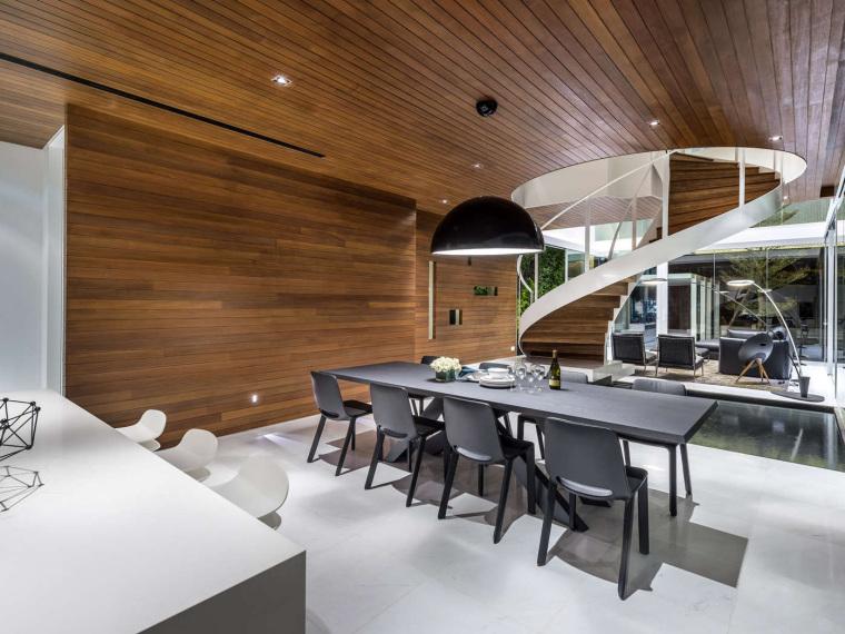 vray室外玻璃材质资料下载-新加坡Greja透亮的玻璃别墅