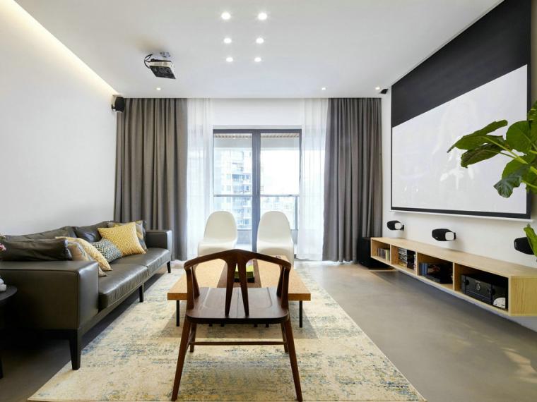 极简主义风格的住宅