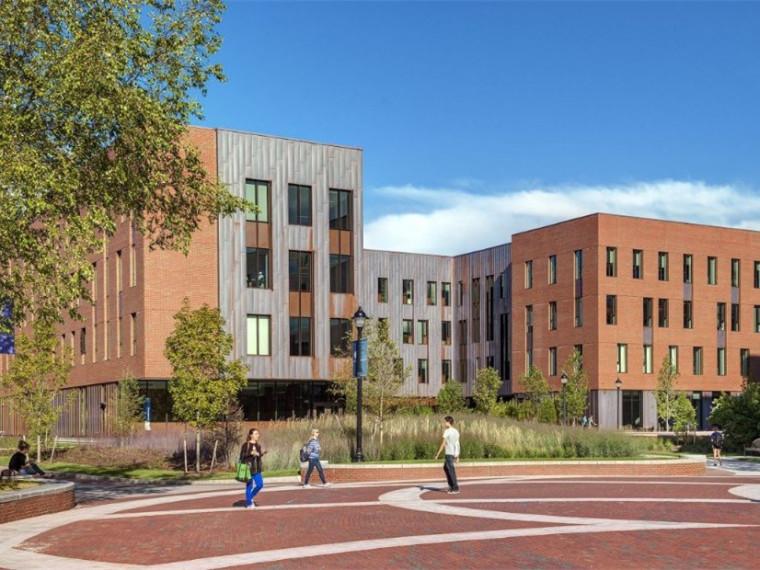 美国康涅狄格州大学校园景观
