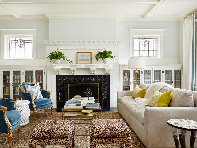 美国丰富色彩及元素的住宅