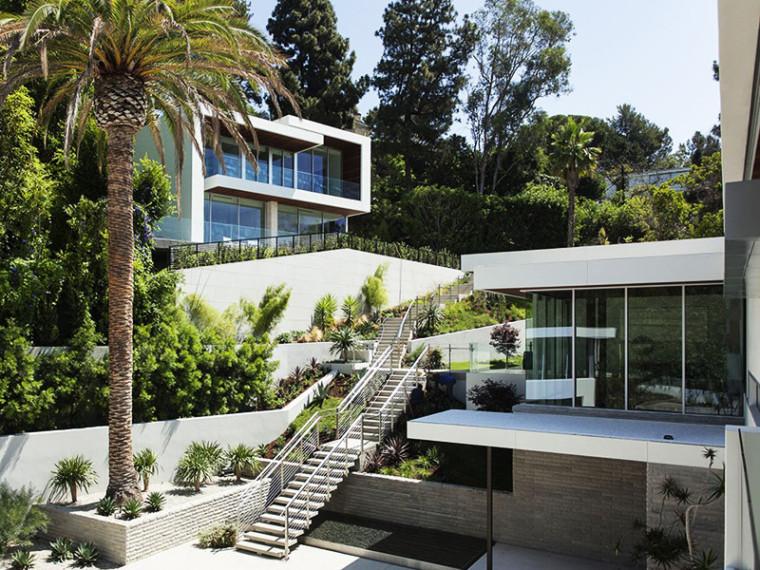 斜坡私人花园的设计