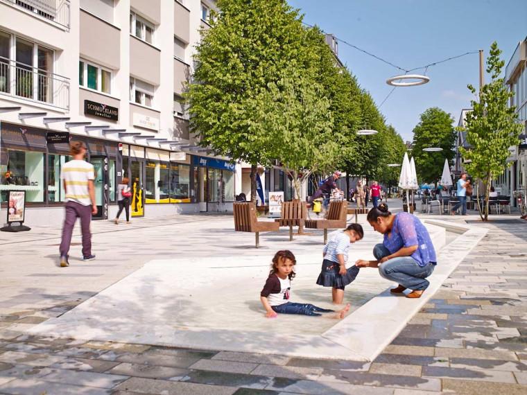 德国Neue Meile Boblingen街区的改造