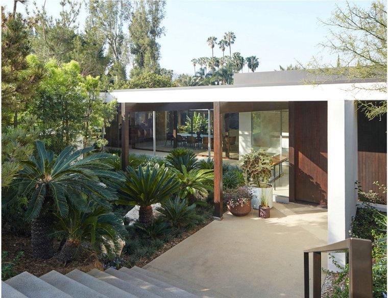 美国Kronish住宅景观外部实景图-美国Kronish住宅景观第2张图片