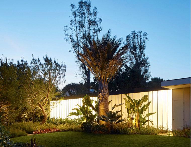 美国Kronish住宅景观外部夜景实景-美国Kronish住宅景观第11张图片