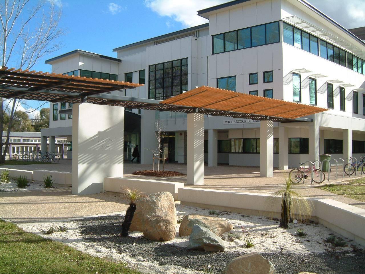 澳大利亚国立大学校园汉考克图书馆