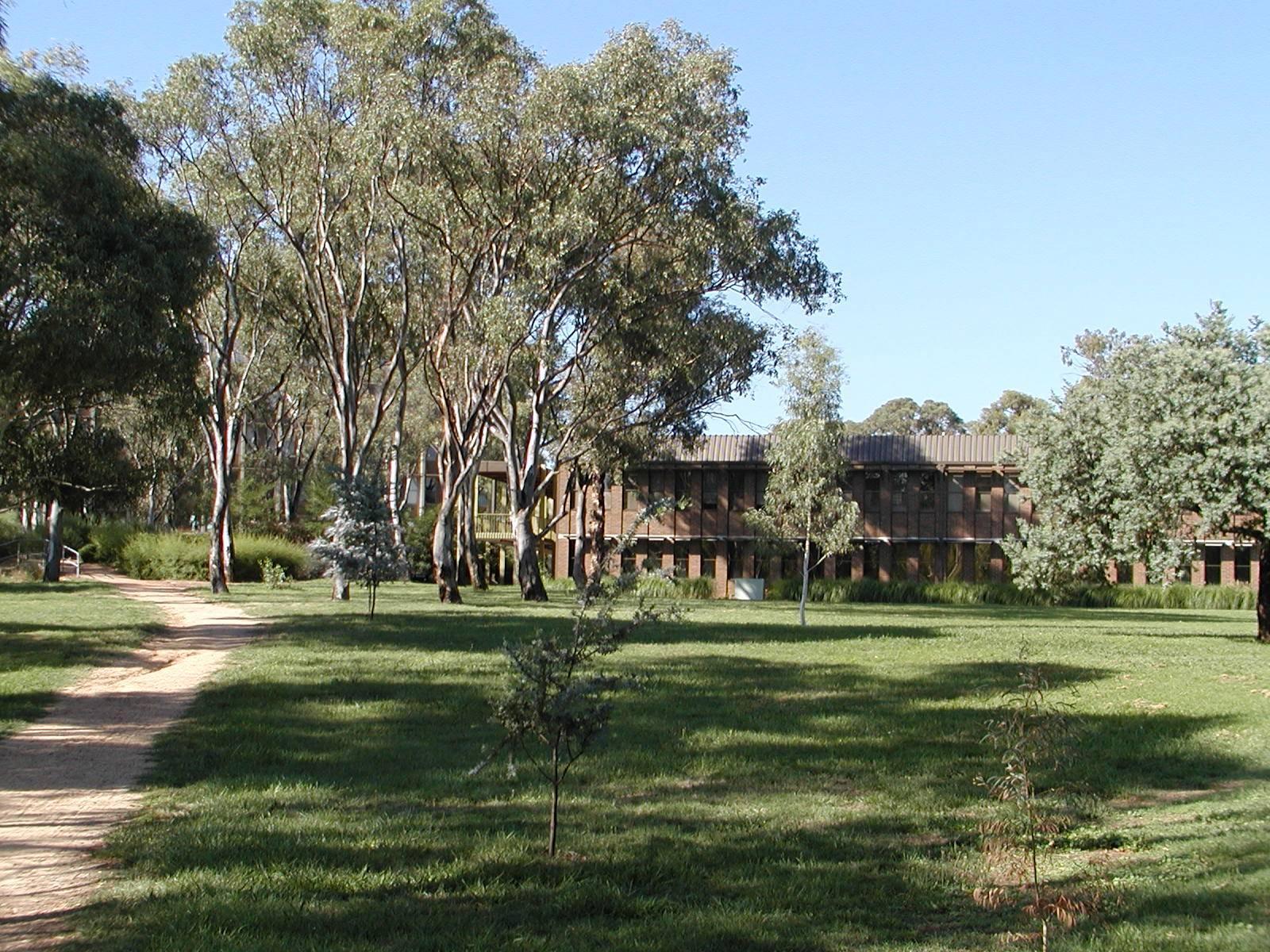 澳大利亚国立大学校园全景(australian national university)