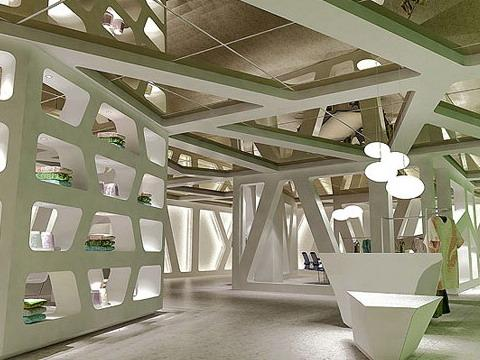 桐乡纺织展厅