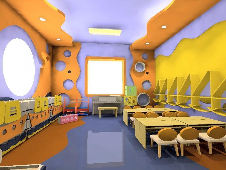 星艺幼儿园海洋主题