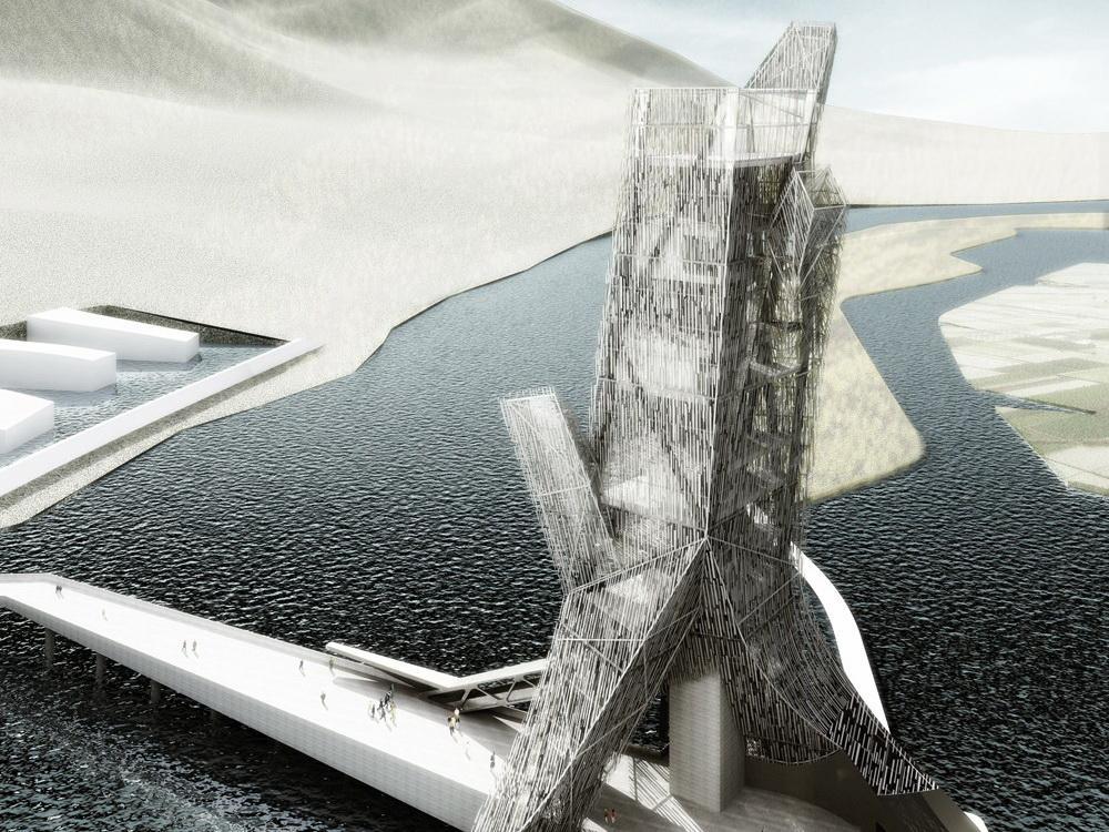 中国四川miyi大厦总体规划
