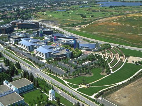 美国谷歌总部