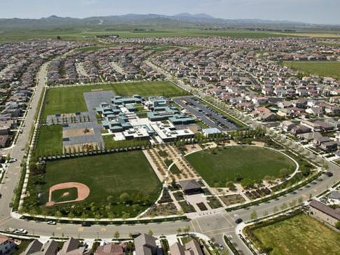 山城住宅区总体规划