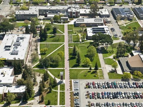 太平洋大学校庆景观