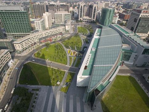 北京金融街景观