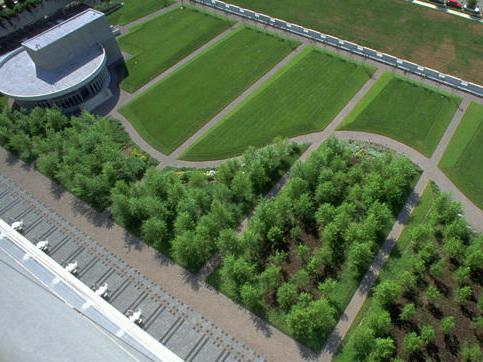 联邦银行屋顶绿化