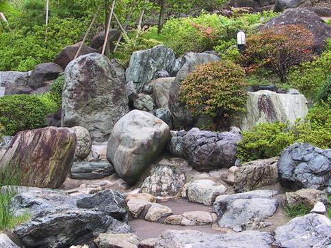 太阳城传统日本花园
