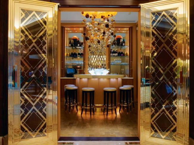 镀金香槟酒吧