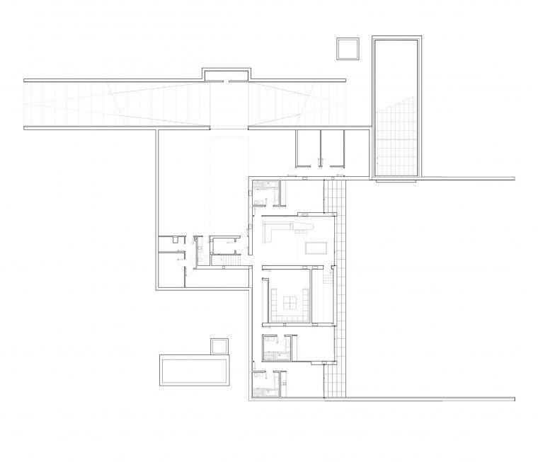 二层平面图 second floor plan-108住宅楼第25张图片