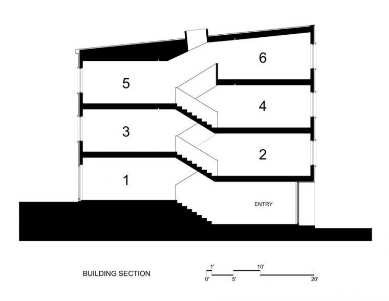 剖面图01 section01-Z住宅第12张图片