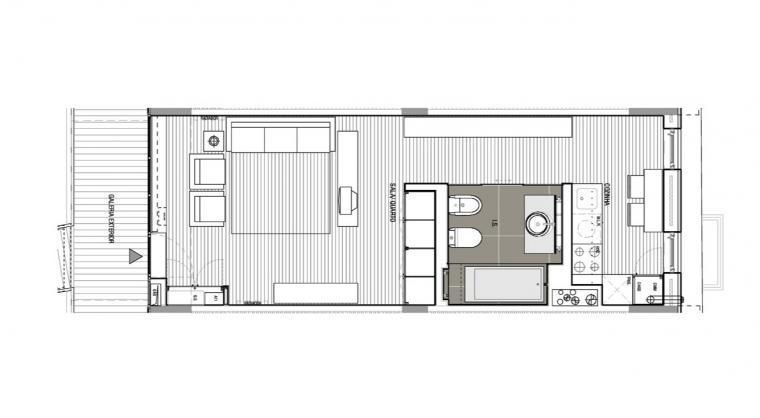 平面图01 floor plans01-路西塔尼亚阁楼第16张图片